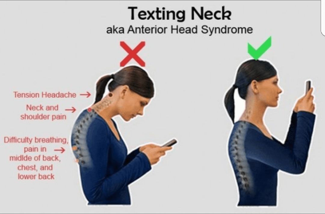 Dr. Ron D'Amato Chiropractor Don't Break Your Neck Over Tech